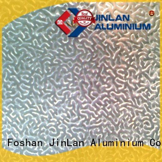 embossed material aluminium coil JinLan aluminum sheet thickness