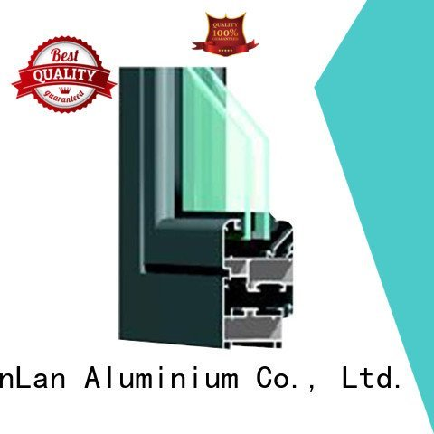 JinLan Brand windows frame section aluminium extrusion sections