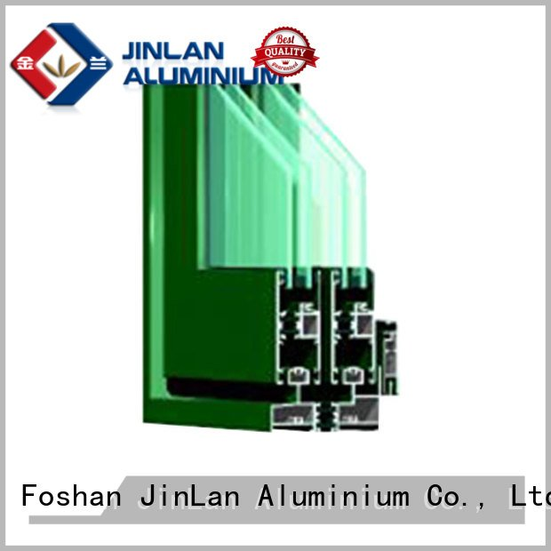 customized window aluminum aluminium section JinLan