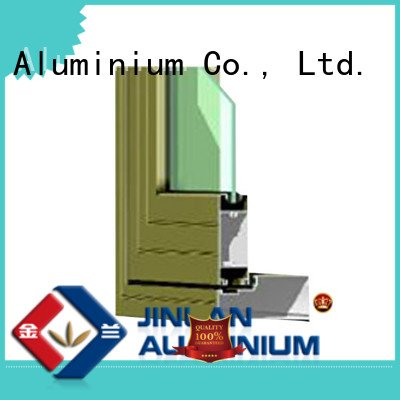 Wholesale profile door aluminium extrusion sections JinLan Brand