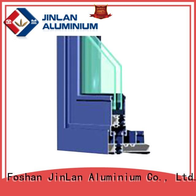 JinLan Brand wood profiles aluminium section sill extrusion
