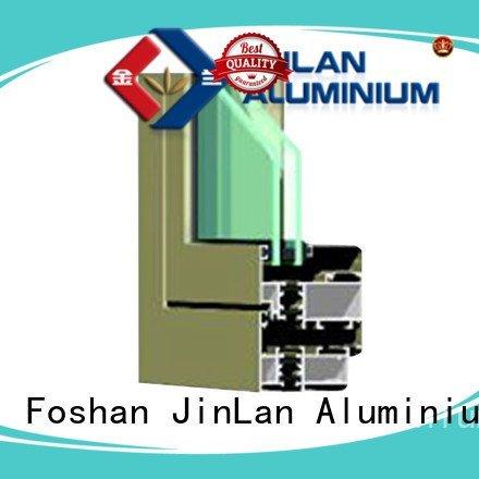 JinLan Brand aluminium grain details aluminium section