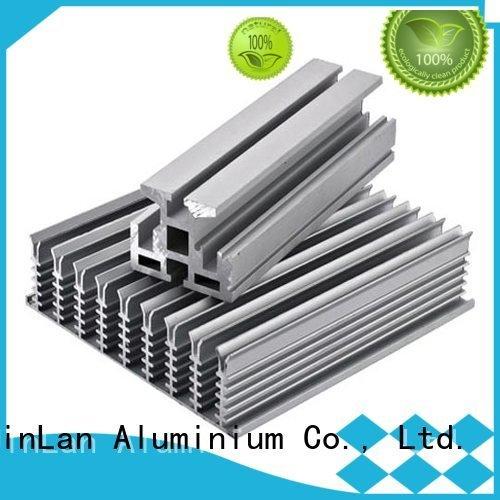 aluminium aluminum rectangular tubing JinLan Brand