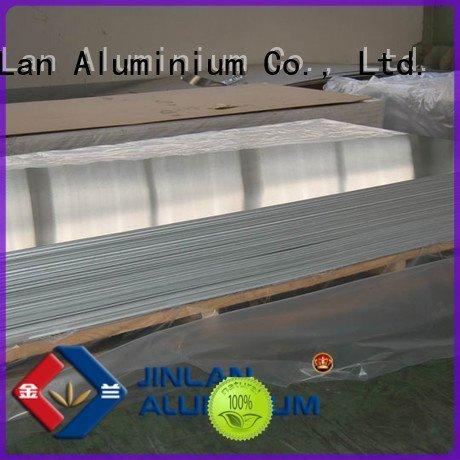 JinLan Brand prepainted aluminium aluminum sheet thickness coils roll