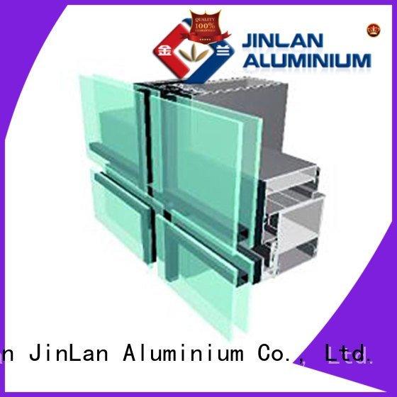 walls aluminum aluminum curtain wall series JinLan Brand company