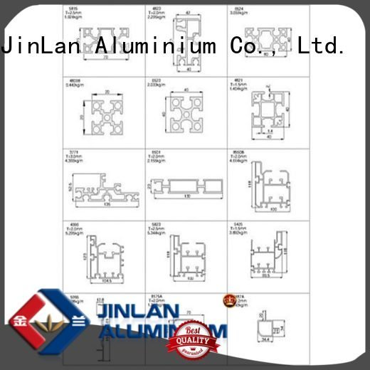 stand systems aluminium extrusion manufacturers in china pipe JinLan