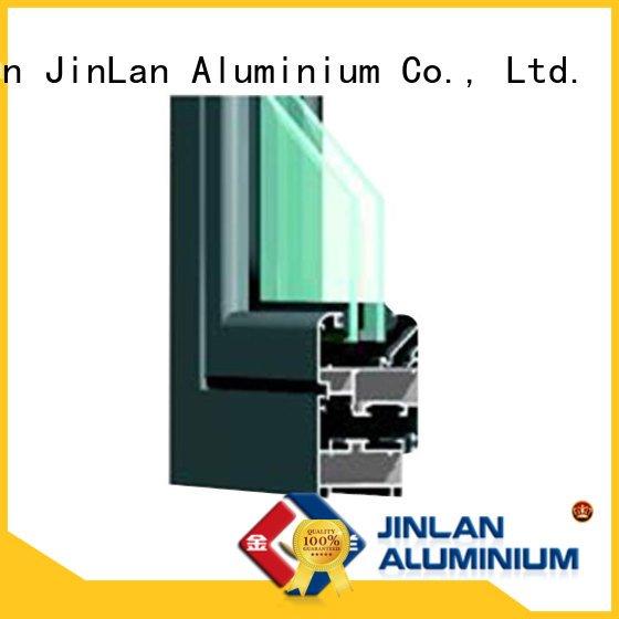 profile sliding aluminium extrusion sections details JinLan