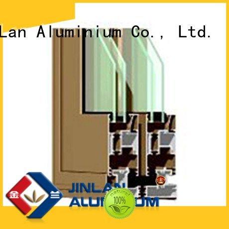 aluminium section aluminum section wood door