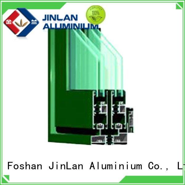 aluminium section customized sill wood JinLan