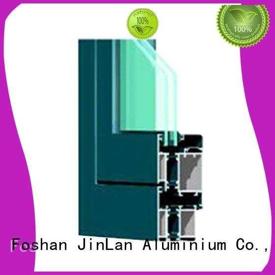Custom extrusion best aluminium sliding doors JinLan sliding