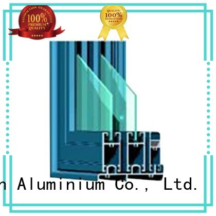 Quality JinLan Brand aluminium doors details customized