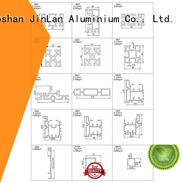 Quality JinLan Brand pipe aluminium extrusion manufacturers in china