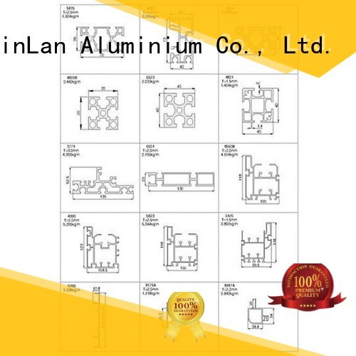 profile systems JinLan Brand aluminium extrusion manufacturers in china