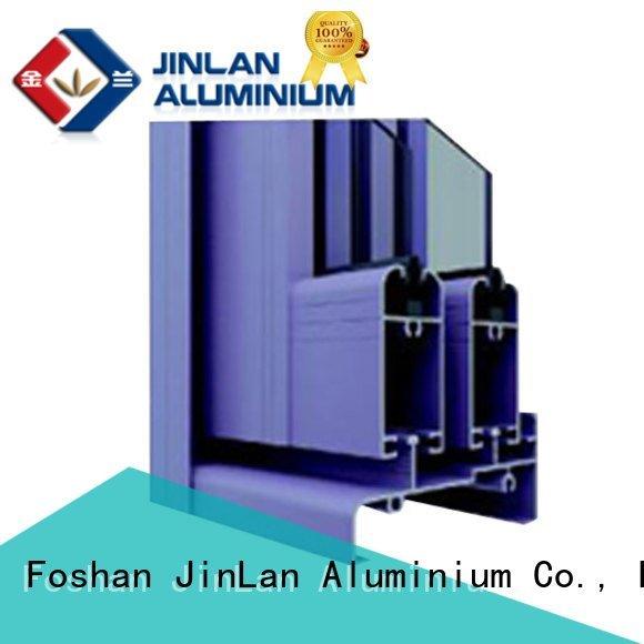 Hot aluminium section customized window windows JinLan Brand
