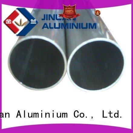 aluminium aluminum rectangular tubing stand profile JinLan Brand