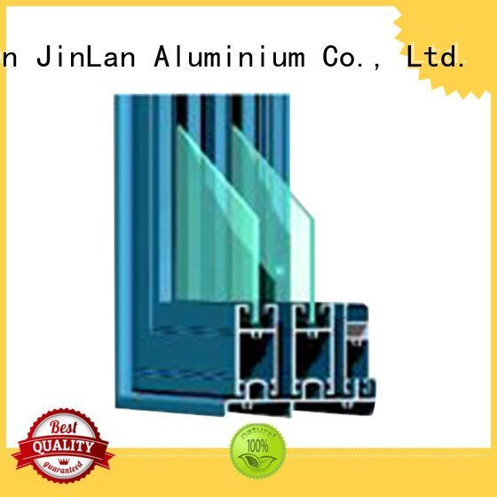 JinLan Brand frame sill sections aluminium extrusion sections section