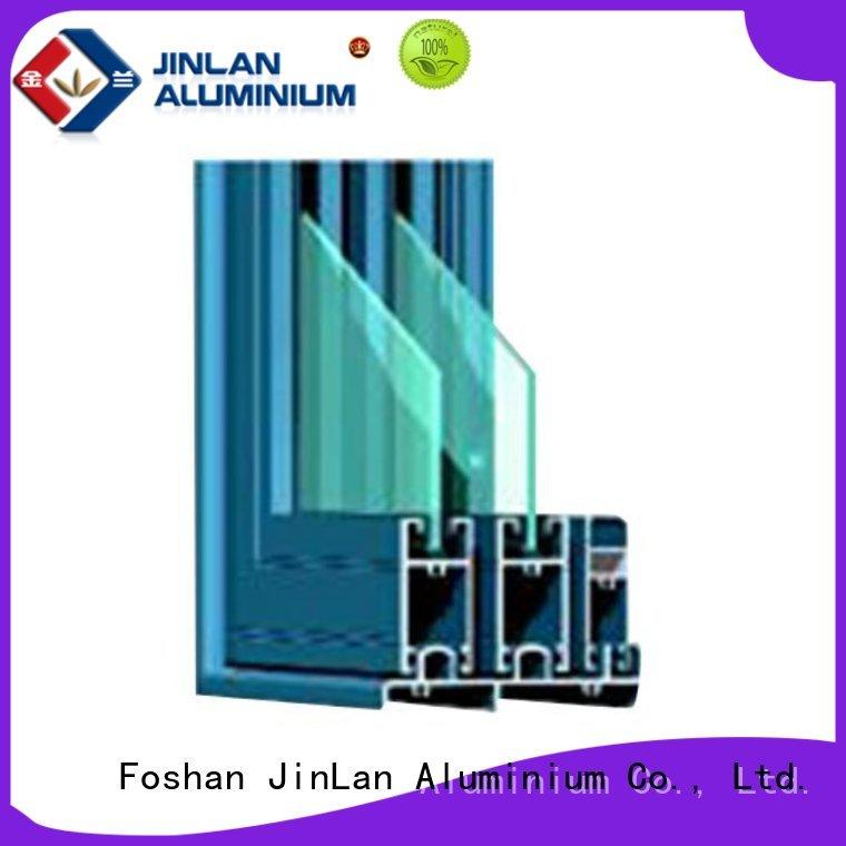 aluminium doors profile best aluminium sliding doors profiles JinLan Brand