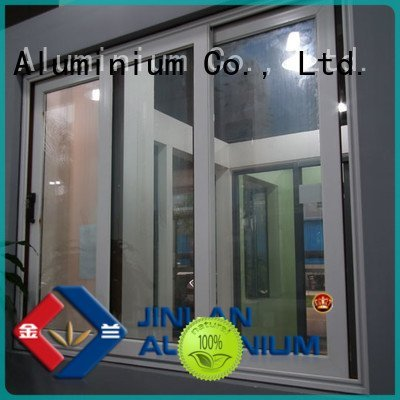 aluminum sliding aluminium window frames JinLan