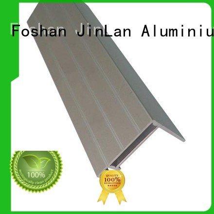 extrusion aluminum rectangular tubing extrusion systems JinLan Brand aluminium