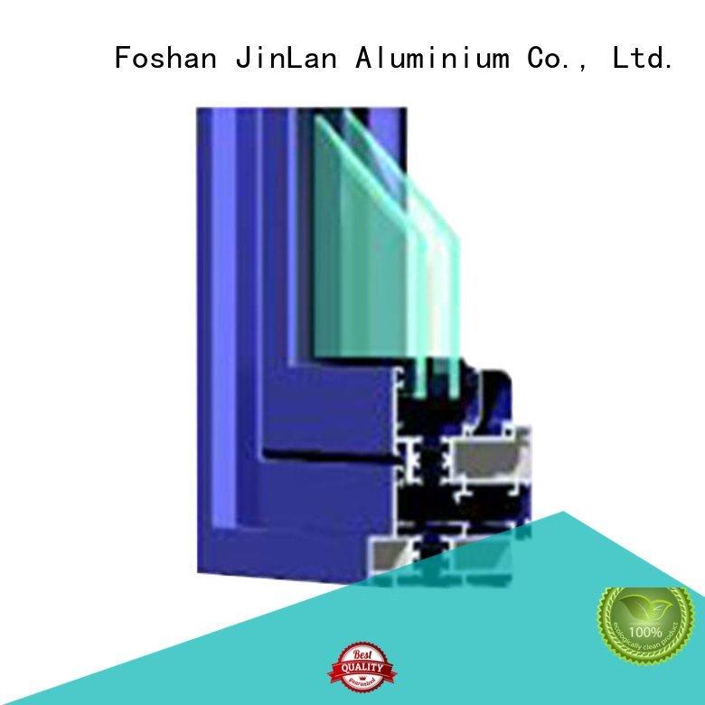 aluminium section sill door aluminium extrusion sections JinLan Brand