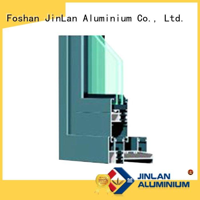 door grain sill section JinLan aluminium extrusion sections