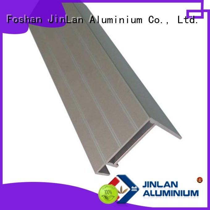 Hot aluminum rectangular tubing aluminium JinLan Brand