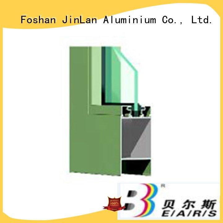 Custom details aluminium extrusion sections sliding aluminium section