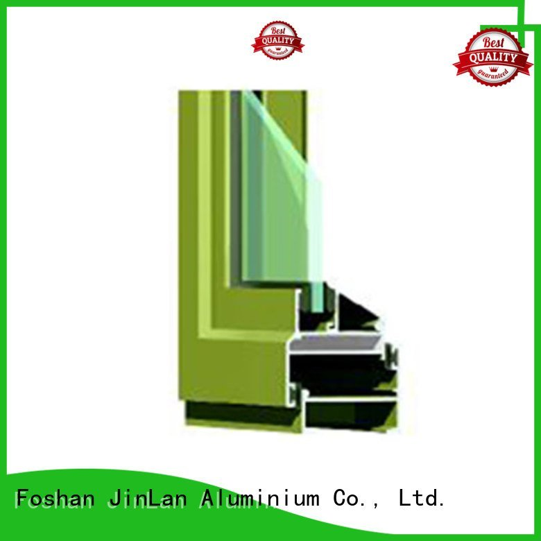 aluminium section frame sill aluminium extrusion sections JinLan Warranty