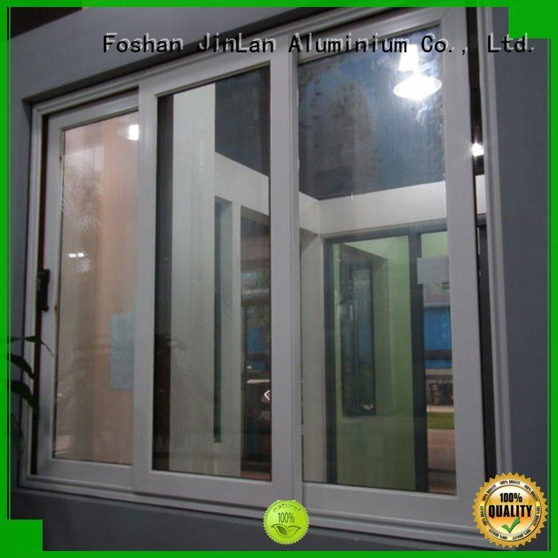 Quality JinLan Brand aluminium window frames doors