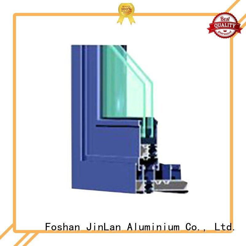 aluminium doors aluminum customized hot sale JinLan Brand aluminium sliding doors
