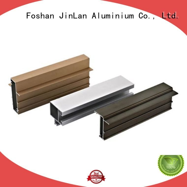 JinLan Brand extrusion pipe stand aluminium extrusion manufacturers in china solar