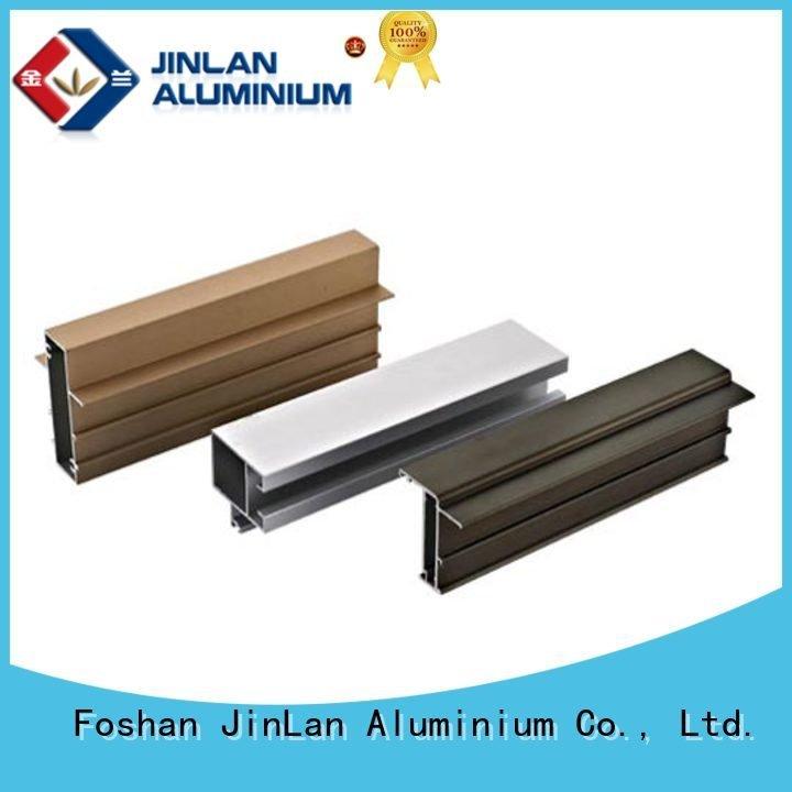 JinLan aluminum rectangular tubing extrusion systems stand solar