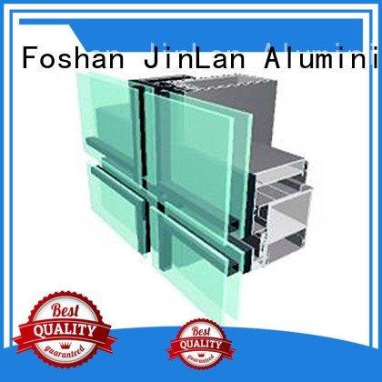 aluminium curtain wall wall JinLan Brand