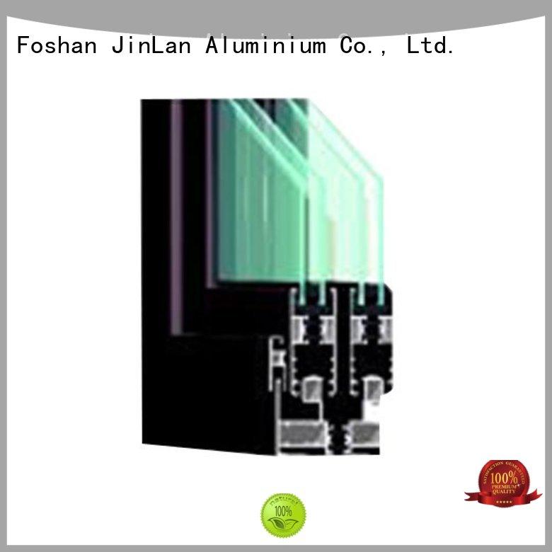 customized popular OEM aluminium sliding doors JinLan