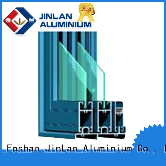 sliding aluminium aluminium section JinLan Brand