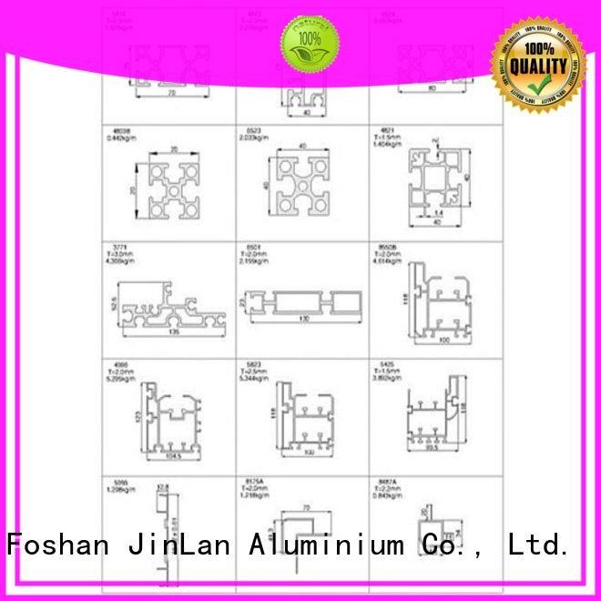 solar pipe aluminum rectangular tubing JinLan