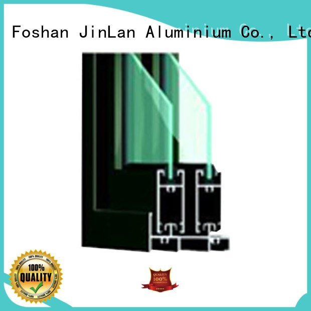 door sand sliding frame JinLan aluminium section
