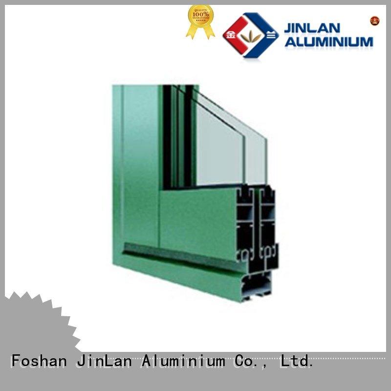 Wholesale top selling aluminium sliding doors JinLan Brand
