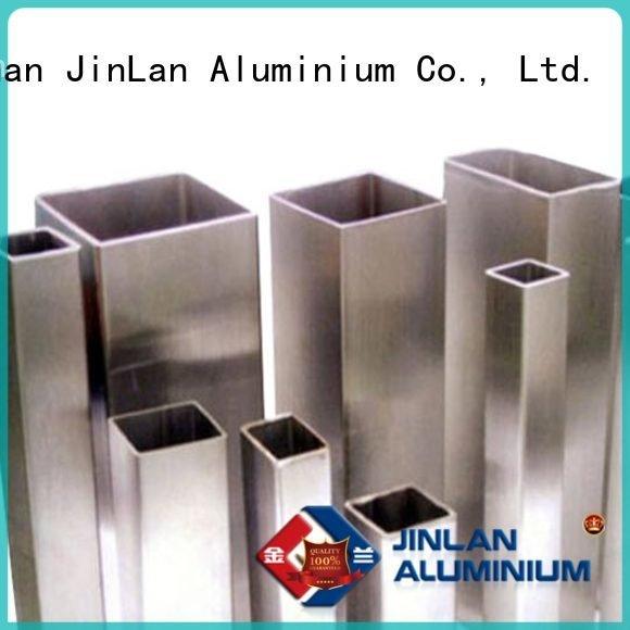 aluminum rectangular tubing extrusion systems JinLan Brand