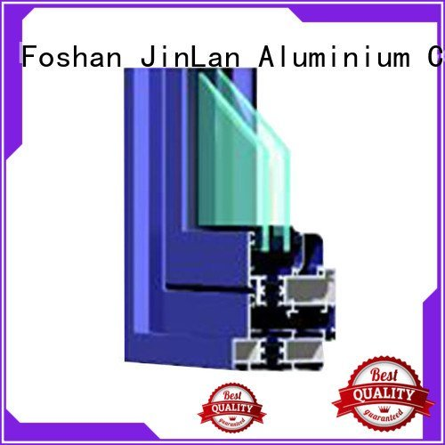 Hot aluminium section section details sections JinLan Brand