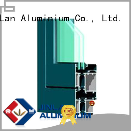 profile sliding aluminium section JinLan manufacture