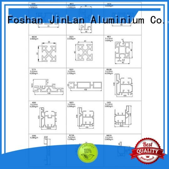 systems stand aluminium extrusion manufacturers in china JinLan
