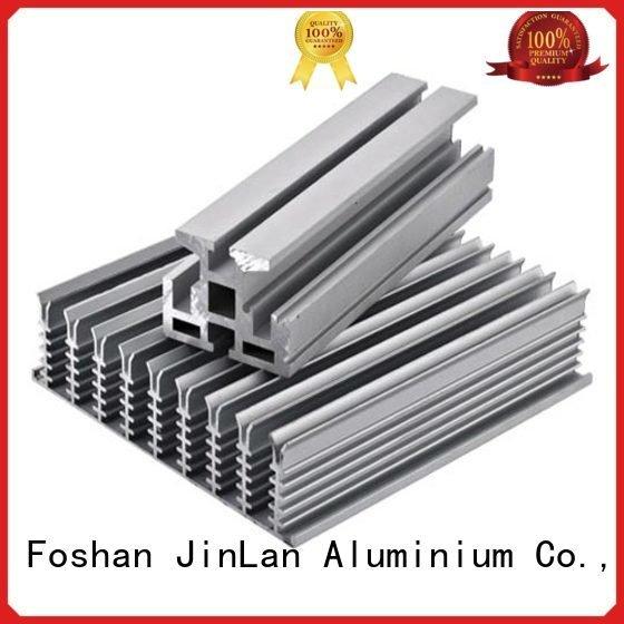 profile JinLan aluminum rectangular tubing