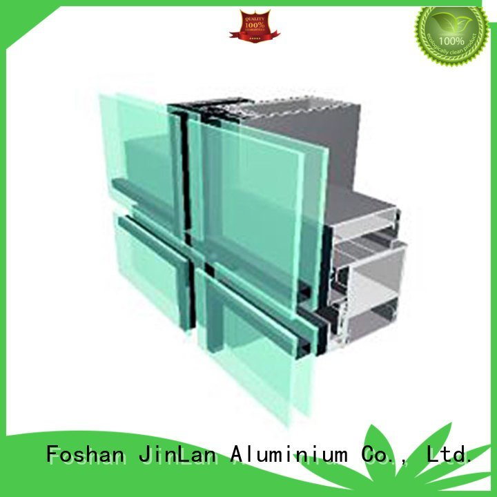 JinLan Brand walls wall aluminium curtain wall series curtain