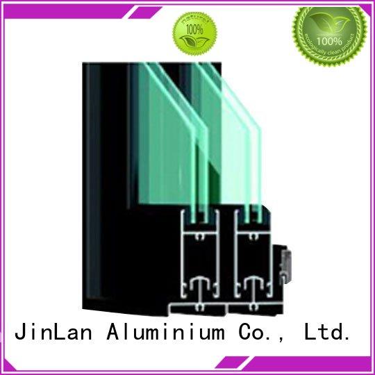 Hot aluminum aluminium doors sand JinLan Brand