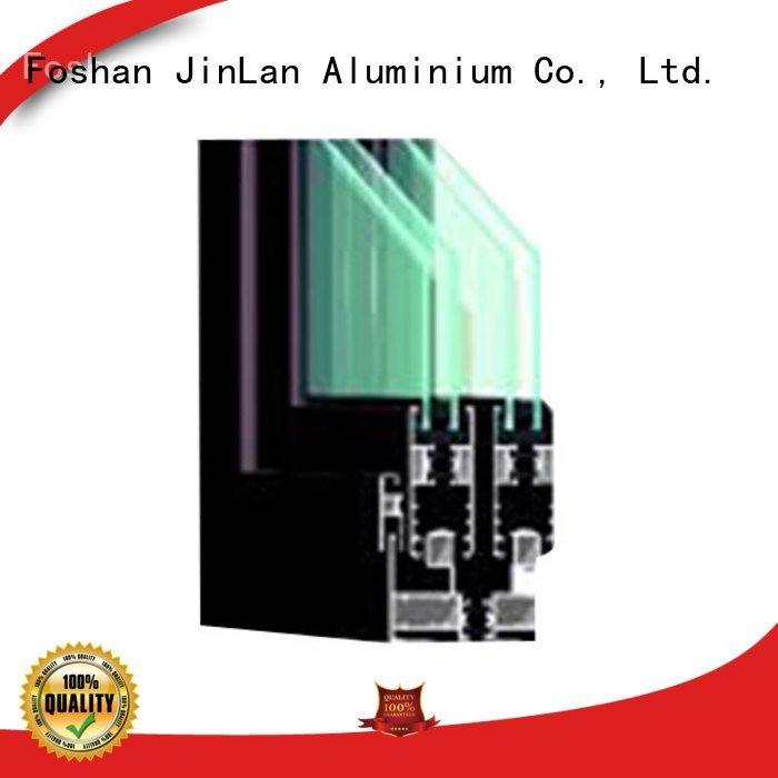 OEM aluminium section grain door wood aluminium extrusion sections
