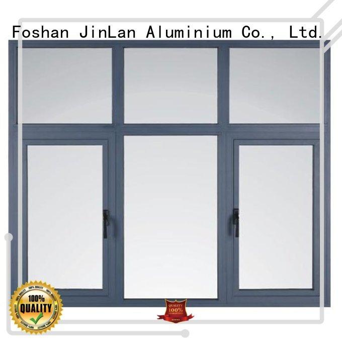 JinLan Brand doors windows casement aluminium sliding doors