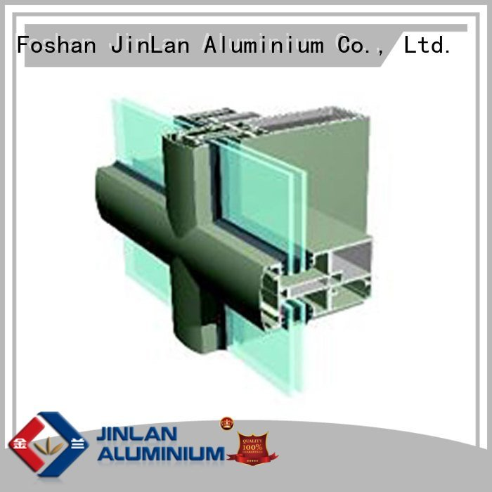 OEM aluminium curtain wall aluminium walls curtain aluminum curtain wall