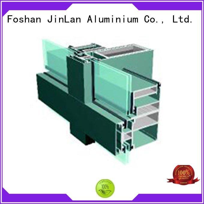 aluminium curtain wall aluminium Bulk Buy systems JinLan