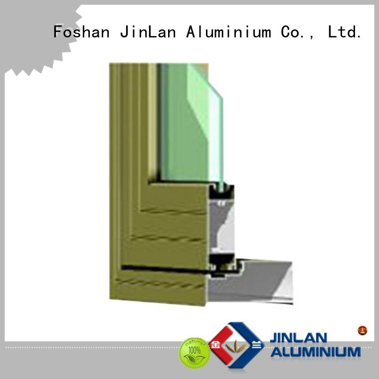 sill aluminium extrusion sections windows window JinLan